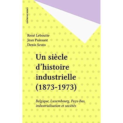 Un siècle d'histoire industrielle (1873-1973): Belgique, Luxembourg, Pays-Bas, industrialisation et sociétés (Regards sur l'histoire)
