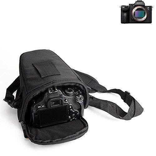 Per Sony Alpha 7 III Custodia anti-shock per macchine fotografiche Impermeabile sacchetto per fotocamere SLR DSLR reflex riflettori con copertura a pioggia supplementare Scatola di viaggio per Sony