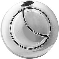 Lecimo 2* WC BotóN De Doble Descarga De Agua De Ahorro De Cromo