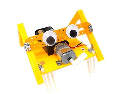 Stemkid Bionik Roboter Insekt Käfer Bausatz Robo Bug Spinne Krabbeltier Laufroboter STEM Mint Robotik Technikbaukasten Lernen Forschen und Basteln Lernpaket Gadget 2019
