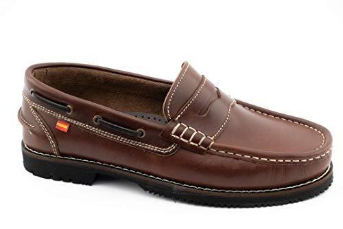 Zapato Nautico Tipo Apache - Hombre Color: Marron Talla: 44