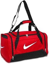 Nike Brasilia 6Small–Bolsa de deporte, color Gym Red/Black/White, tamaño 52 x 28 x 30 cm, 44 Liter