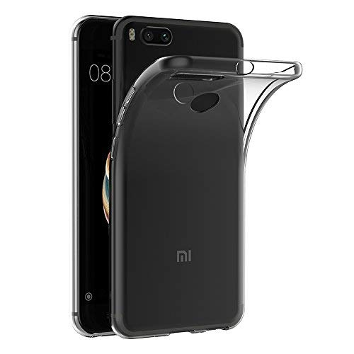 Cover Xiaomi Mi 5X / Xiaomi Mi A1, AICEK Cover Xiaomi 5X Silicone Case Molle di TPU Trasparente Sottile Custodia per Xiaomi Mi 5X (5.5 pollici)