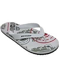 6e85df10538c2 Dunlop Mens Boys Flip Flop Sandal Holiday Beach Pool Toe Post Shoes Size 6 -11