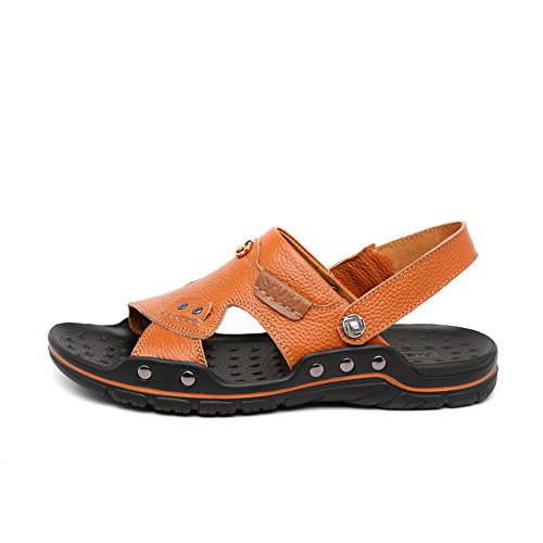 É Verão-homens Casual / Sandálias Respiráveis macios / Sapatos De Dupla Utilização / Chinelos Sapatos Masculinos Um
