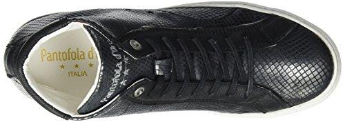 Pantofola d'Oro Damen Paularo Donne Mid Sneaker Schwarz (Black)