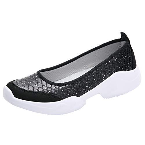 Mocassini Donna Sportive Scarpe Bassi Donne Traspirante Scarpe Suola Morbido Comode Serpente Sneakers a Pois Outdoor Running Shoes Workout Ginnastica
