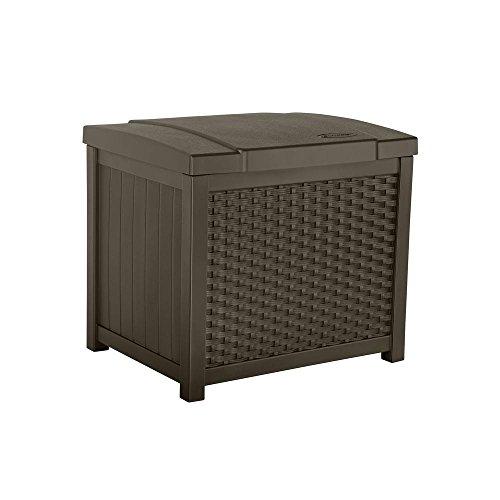 Suncast ssw900Wicker Deck Box, 22Liter (Suncast Outdoor-deck)