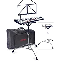 Stagg 25019417 Bell-SET 32 Metallophone Practice Pad Stand
