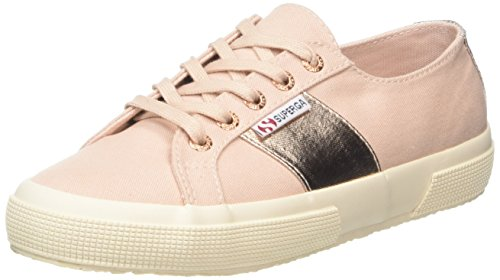 Superga 2750 Cotcotmetw Sneaker Donna Oro Rose Gold A42 41 EU b3F