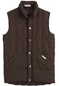 Puffa Country Sports – Burton, gilet pour homme, Homme, - Chestnut, XXL