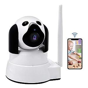 donde puedo encontrar camaras espias: Vigilabebés LXMIMI Bebé Monitor IP WiFi P2P Cámara de Vigilancia/Seguridad Inalá...