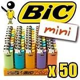 BRIQUET BIC MINI COLOR x50