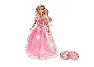 Simba 105733105-Steffi Love Romantic Fashion muñeca
