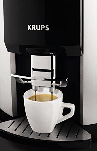 Krups EA 9010 Coffee Maker, 1450 W, Mero/Bianco