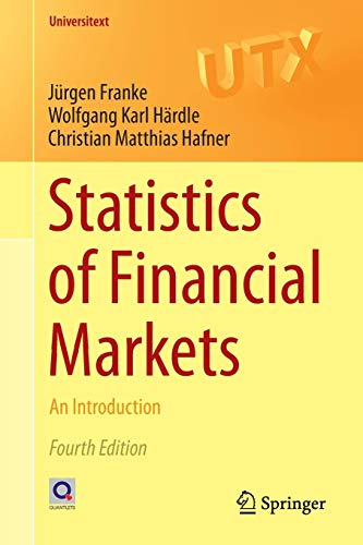 Statistics of Financial Markets: An Introduction (Universitext) (Time Series, Neural Network)