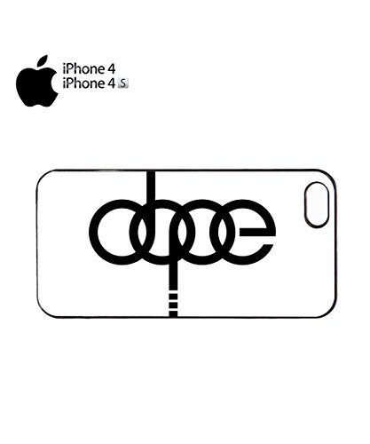 Dope Funny Car Brand Germany Mobile Phone Case Cover iPhone 6 Plus + White Noir