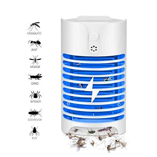 DULIMEI Moskito-Lampe Insektenvernichter, Elektrischer Insektenvernichter, Anti Moskito Killer Lampe, UV Bug Licht, USB Mückenfalle Indoor, Chemikalienfrei, Sicher Für Baby Schwangere -