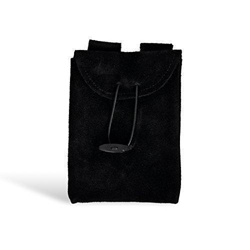 Kleine Ledertasche schwarz Gürteltasche Leder f Mittelalter LARP Rollenspiel