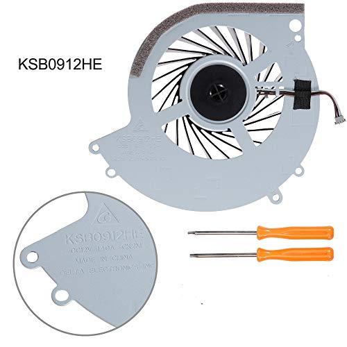 PS4 Ersatz-Kühler für Playstation 4 CUH-10XXA CUH-11XXA CUH-1115A 500 GB + Werkzeugset -