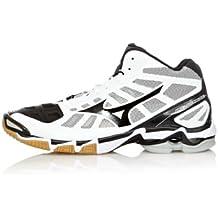 Mizuno Sneakers Indoor Wave Lightning RX2 Mid Bianco/Nero EU 50 (UK 14) De Italia Comprar Barato Muchos Tipos De Comprar Barato La Mejor Venta KCzICDjv