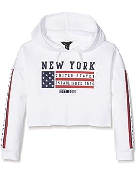 New Look Mädchen Kapuzenpullover American Flag
