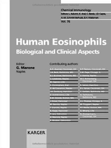 HUMAN EOSINOPHILIS. BIOLOGICAL AND CLINICAL ASPECTS. VOLUME 76