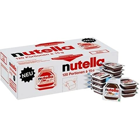 Nutella Frühstücksportionen 120 x 15g (Nutella Ferrero)