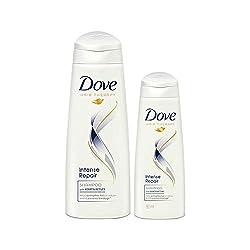Dove Intense Repair Shampoo, 340ml (with Free 80ml)