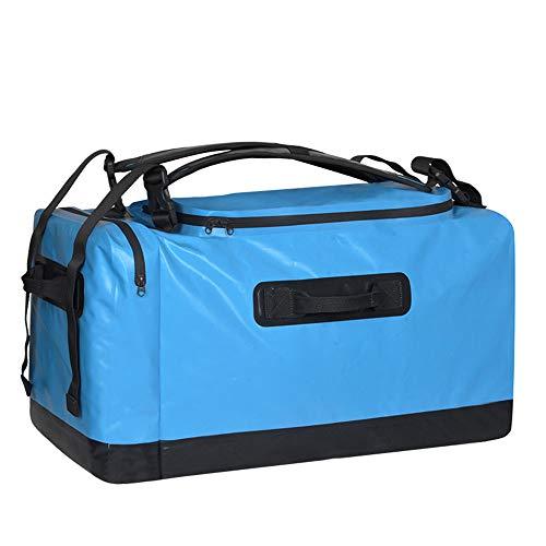 WJQ Outdoor Travel Waterproof Bag Camping Adventure Rucksack Großer Kapazität Komfortbezug Feuchtigkeit Proof Comfortable Breathable Bright Outdoor Light Travel
