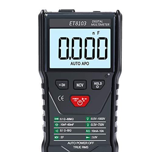Fornateu Digital NCV Senza Contatto rilevatore di Tensione di Corrente Tester multimetro LCD retroilluminazione del Display Spegnimento Automatico