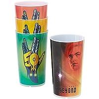 """Set di bicchieri """"50 anni di Star Trek"""" edizione speciale limitata per collezionisti"""