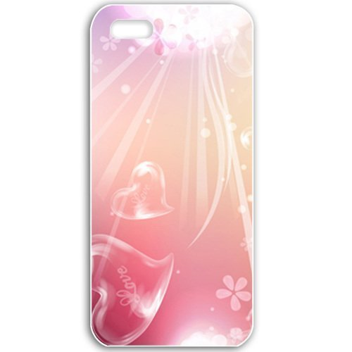 Apple iPhone 5 5S Cases Customized Gifts For Holidays Love Celebrations Holiday White