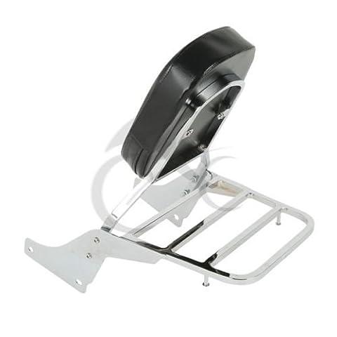 Tengchang Detachable Backrest Sissy Bar Luggage Rack For Honda Shadow