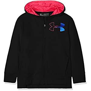 Under Armour Mädchen Threadborne Terry Full Zip Oberteil