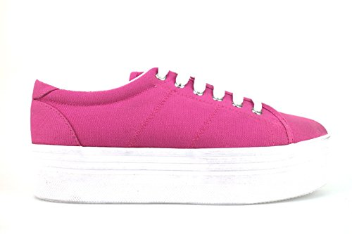Femme JC PLAY by JEFFREY CAMPBELL 41 Sneakers / Basket mode Talon compensés Fuchsia AH426