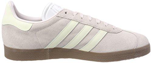 adidas Damen Gazelle Sneakers Grau (Orchid Tint/Footwear White/Gum)