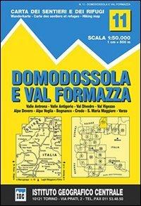 IGC Wanderkarte Domodossola e Val Formazza