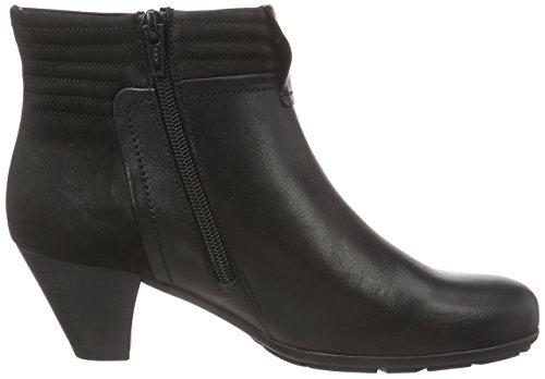 37 Schwarz donna a gamba imbottiti Stivali Nero Micro Gabor Fashion Comfort classici schwarz corta qSOZ1w