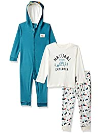 MINI KLUB Baby Boys' Regular Fit Clothing Set (Pack of 3)