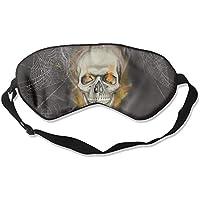 Sleep Eye Mask Skull Spider Web Lightweight Soft Blindfold Adjustable Head Strap Eyeshade Travel Eyepatch E5 preisvergleich bei billige-tabletten.eu