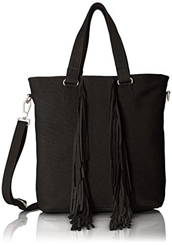 Amsterdam Cowboys Damen Bag Winterton Schultertaschen, Schwarz (Black 100) 30x34x10 cm