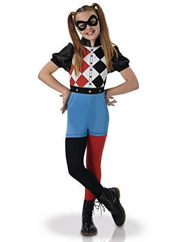 Warner–i-630025s–Disfraz clásico Harley Quinn Superhero Girls