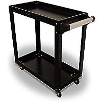 US PRO TOOLS in acciaio nero strumento carrello Workstation Box