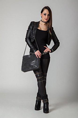styleBREAKER, Borsa a tracolla donna Marrone (Cammello)
