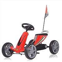 597c72e6a4 Ferrari Go Kart a Pedali per Bambini Giocattoli per Bimbi con Ruote in EVA  adatto da 3 a 6 Anni in Rosso