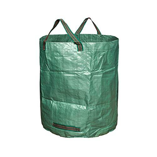 Nosii 3-Pack 72 Gallonen schwere Gartenabfallsäcke für Garten Rasen Blatt Hof (D67 * H76cm) -