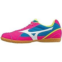 Mizuno Sala Club 2 IN, Zapatilla de fútbol Sala, Pink GLO-White-