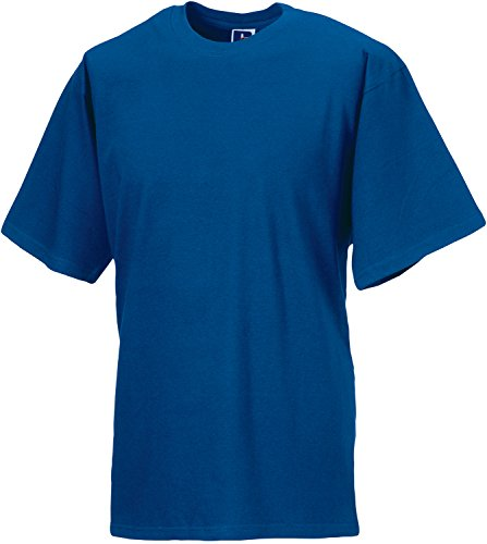 Z180-5 Jerzees Colours 5er-Pack Silver Label T-Shirt (auch in Übergrößen), Größe:XXL, Farbe:Bright Royal -