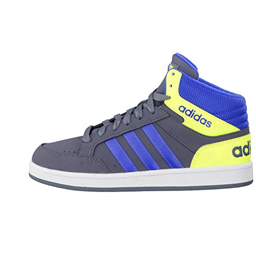Adidas neo AW5092 Sneakers Bambino Onyx/Blue/Syello